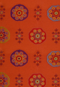 SCHUMACHER USAK WEAVE FABRIC SPICE (SOLD BY REPEAT)