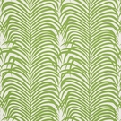SCHUMACHER ZEBRA PALM INDOOR/OUTDOOR FABRIC LEAF