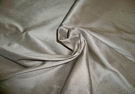 SILK LOOM 3 PLY SILK FAILLE FABRIC STERLING SILVER 30 YARD BOLT