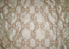 SILK LOOM CEREMONY EMBROIDERED SILK FABRIC GOLD CREAM 30 YARD BOLT