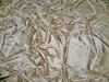 SILK LOOM FORTUNY STYLE VENETIAN PRINTED SILK FABRIC CREAM BEIGE