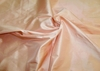 SILK LOOM INC REGENCY SILK DUPIONI FABRIC CHABLIS PEACHY PINK