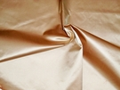 SILK LOOM INC SHANTELLE SILK SATIN FABRIC APRICOT PEACH