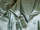 SILK LOOM INC SHANTELLE SILK SATIN FABRIC  AQUA TEAL