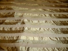 SILK LOOM NIEDRA TRANSLUCENT STRIPES SILK FABRIC ANTIQUE GOLD