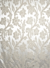 STROHEIM GREER POLY SILK DAMASK  FABRIC FROTH