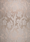 STROHEIM GREER POLY SILK DAMASK  FABRIC INNOCENT BLUSH