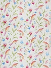 STROHEIM & ROMANN AMIDALA BIRD PRINT COTTON FABRIC MULTI BRIGHT