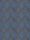 STROHEIM & ROMANN CAPRICCIO EMBROIDERED CREWEL FABRIC  BLUEDREAM