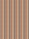 STROHEIM & ROMANN DEVERE STRIPE SILK FABRIC SIENNA