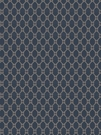 STROHEIM & ROMANN GLYN LATTICE SILK FABRIC SAPPHIRE