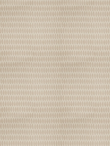STROHEIM & ROMANN LEAF ETHNIC LEAVES LINEN FABRIC GOLDEN STRAW