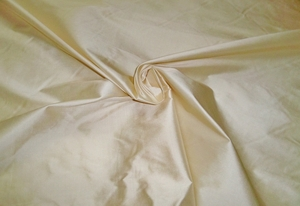 STROHEIM & ROMANN OPAL CREAM SILK FABRIC 10 YARDS