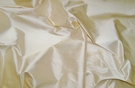 STROHEIM & ROMANN OPAL CREAM SILK FABRIC 50 YARDS