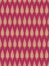 STROHEIM & ROMANN PRIYA ETHNIC CHINOISERIE COTTON FABRIC PINK ORANGE