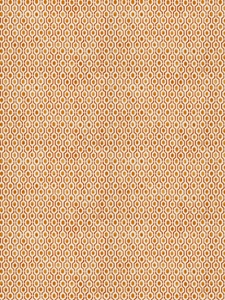 STROHEIM & ROMANN RADLEY ABSTRACT DIAMOND COTTON FABRIC SPICE