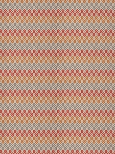 STROHEIM & ROMANN RISHA ABSTRACT SCROLLWORK FABRIC SPICE