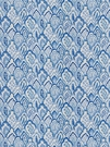 STROHEIM & ROMANN TAJ BARGELLO COTTON FABRIC DELFT