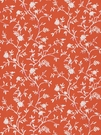 STROHEIM & ROMANN TIVERTON ETHNIC COTTON FABRIC PINK PERSIMMON