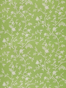 STROHEIM & ROMANN TIVERTON ETHNIC COTTON FABRIC GREEN
