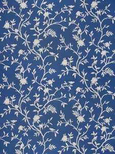 STROHEIM & ROMANN TIVERTON ETHNIC COTTON FABRIC NAVY