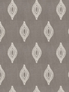 STROHEIM & ROMANN TREMOLO SILK EMBROIDERED FABRIC TAUPE