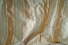 "TAPESTRIA ""MONTEL"" STRIPES SILK FABRIC GOLD BEIGE 30 YARD BOLT"
