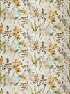 VERVAIN AMILIANA LINEN FLORAL FABRIC HONEY