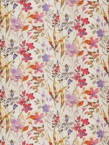 VERVAIN AMILIANA LINEN FLORAL FABRIC TROPICAL