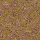 VERVAIN BARDELINO LINEN FLORAL FABRIC CHARTREUSE