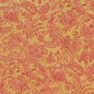 VERVAIN BARDELINO LINEN FLORAL FABRIC MAIZE