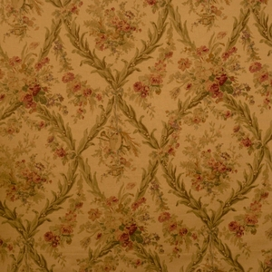 VERVAIN BEAUCLAIRE FLORAL FABRIC ANTIQUE