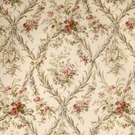 VERVAIN BEAUCLAIRE FLORAL FABRIC IVORY