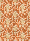 VERVAIN BONNEAU IKAT KILIM PRINTED FABRIC SUNSET