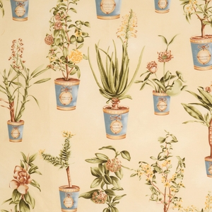 VERVAIN BOTANIQUE FLORAL FABRIC HONEYSUCKLE