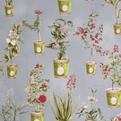 VERVAIN BOTANIQUE FLORAL FABRIC WATERFALL