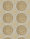 VERVAIN CASABLANCA EMBROIDERED LINEN FABRIC GLOW