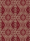 VERVAIN CASTELLI ETHNIC CHIC IKAT FABRIC CARNIVAL