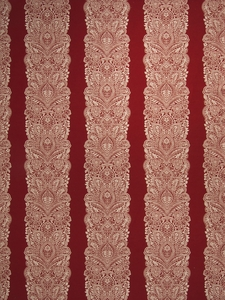 VERVAIN CHANTILLY WOVEN FLORAL FABRIC LACQUER