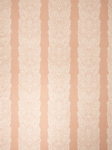 VERVAIN CHANTILLY WOVEN FLORAL FABRIC ROSEWATER