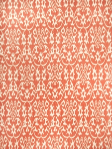 VERVAIN COSTANTI PRINTED FABRIC PERSIMMON