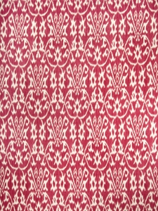 VERVAIN COSTANTI PRINTED FABRIC RED