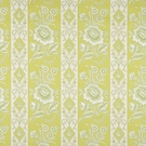 VERVAIN ELYSEE COTTON FLORAL FABRIC KIWI