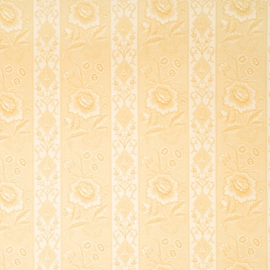VERVAIN ELYSEE ON LINEN FLORAL FABRIC DOE