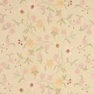 VERVAIN FEMMINA EMBROIDERED SILK FABRIC BLOSSOM