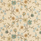VERVAIN FEMMINA EMBROIDERED SILK FABRIC MIST