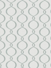 VERVAIN GALATEA EMBROIDERED OGEE FABRIC ICE BLUE