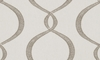 VERVAIN GALATEA EMBROIDERED OGEE FABRIC MOONSTONE