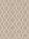 VERVAIN GALATEA EMBROIDERED OGEE FABRIC PUMICE