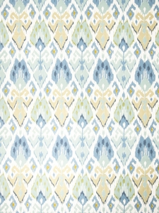 VERVAIN LA GOULET PRINTED FABRIC LAGOON